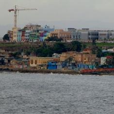 La Perla, San Juan from the ship