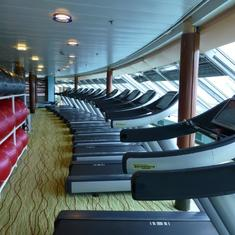 Buenos Aires, Argentina - Celebrity Infinity - Gym