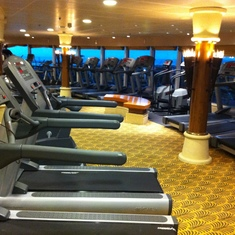 Radiance of the Seas Gym