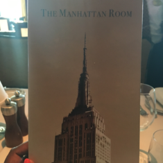 The Manhattan Room Restaurant on Norwegian Breakaway