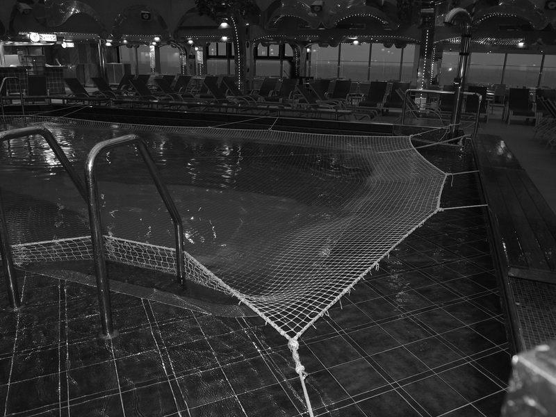 Pool Closed - Carnival Splendor