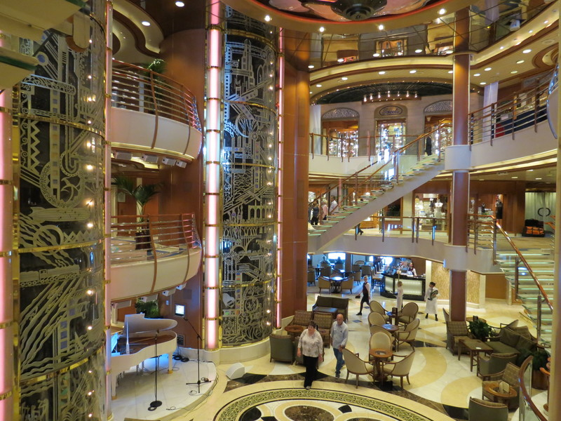 Photo Of Sapphire Princess Cruise On Jul 28 2012 Main Lobby