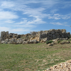 Temple--Oldest free standing structures on earth-6000year. Island of Goza--Malta