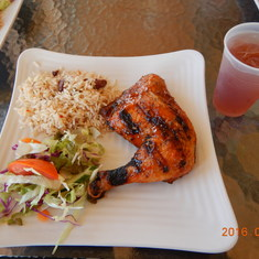 Antigua, Lunch was included in our excursion. It was delish.
