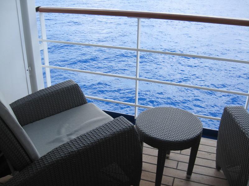 Our balcony--Seven Seas Mariner - Seven Seas Mariner