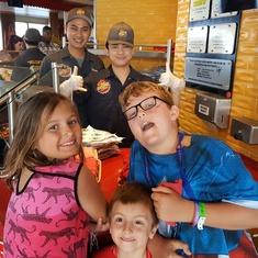 Kids love Guy's Burgers on Liberty
