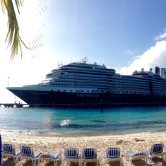 Grand Turk Island - Nieuw Amsterdam in Grand Turk