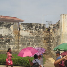 Wall of old city in Cartagens