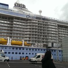 It's a big ship!!