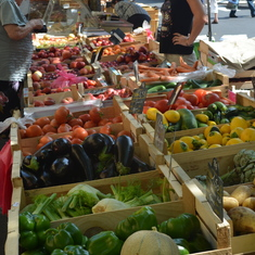 Market day in Bergerac.