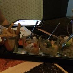 Ceviche at Qsine