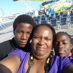 Us on aboard