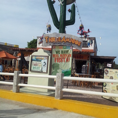 Cozumel, Mexico - to the right after getting off boat and entering Cozumel