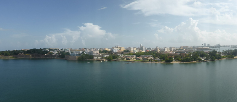 View of San Juan From Ship - Carnival Dream