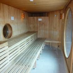Celebrity Infinity - Sauna