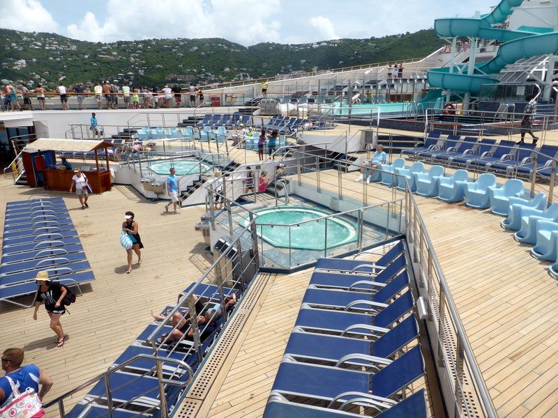 Pool Area - Carnival Liberty