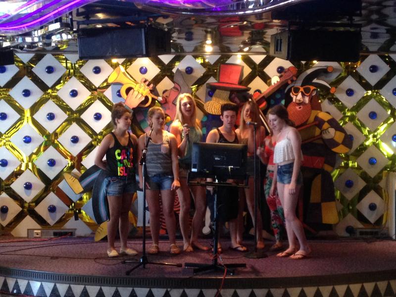 Karaoke In The Avante Garde - Carnival Inspiration