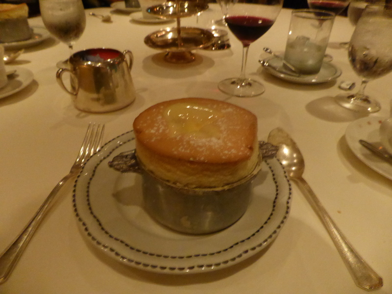 Grand Marnier Souffle - Normandie - Celebrity Summit