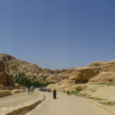 Panoramic of Petra