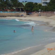Maho Beach, St. Maartin.