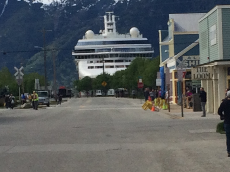 Photo Of Norwegian Pearl Cruise On May 05 2016 Skagway