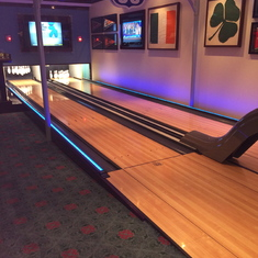 Bowling Alley, two lanes