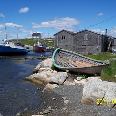 Peggy's Cove.