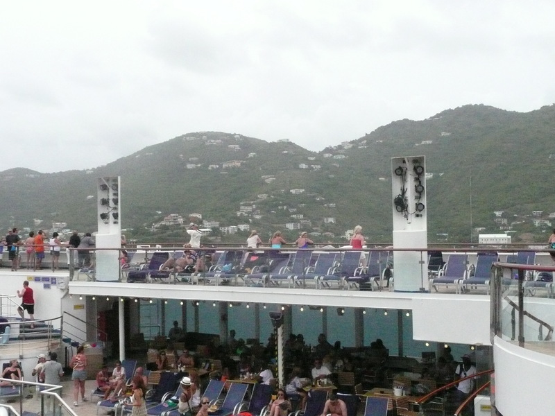 Freedom in Port - Carnival Freedom