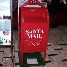 Carnival Fantasy Santa mail