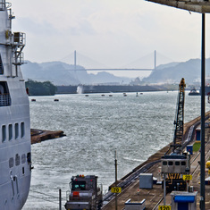 Panama Canal Passage 2015 (photo by Sandy Dooley)