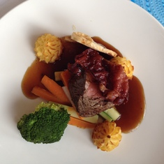 Beef Wellington Dinner