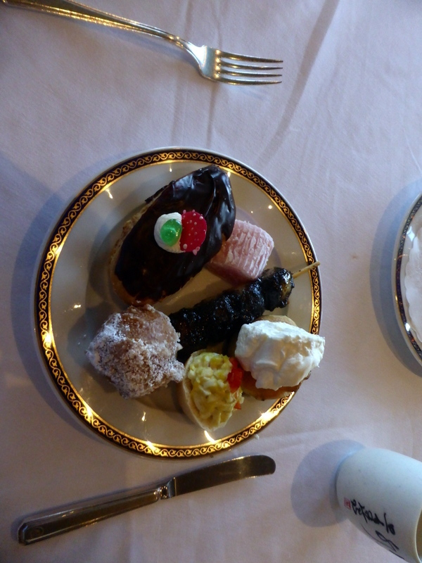 Pastries at High Tea - Amsterdam