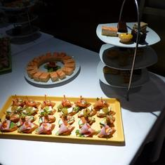 Celebrity Infinity - canapes
