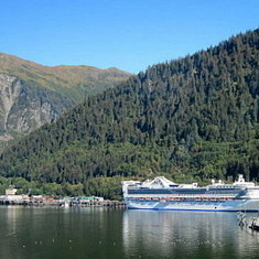 cruise on Golden Princess to Alaska