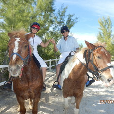 Half Moon Cay, Bahamas (Private Island) - Half moon cay horse riding