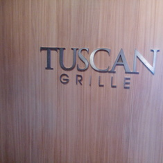 Tuscan Grille on Celebrity Silhouette