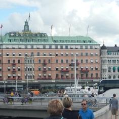 Stockholm, Sweden - Hotel (Grand Hotel?)