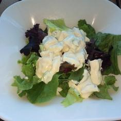 Chicken Salad at Aqua Spa Cafe