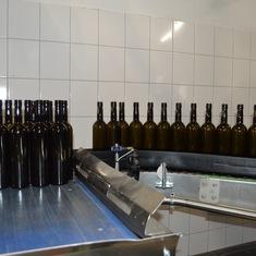 Durnstein, Austria - Morewald Winery Bottling Line