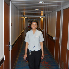 Amy my cabin steward