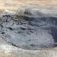 Akureyri  Bubbling mud pots