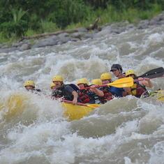 Puerto Limon, Costa Rica - Costa Rica white water rafting