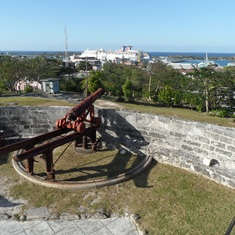 Nassau, Bahamas - Fort Fincastle