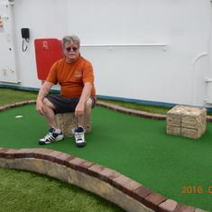 Mini golf.