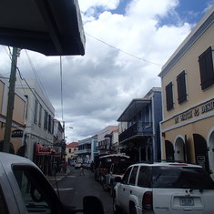 Charlotte Amalie, St. Thomas - Main Street St Thomas-Time to shop