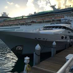 docked at Key West
