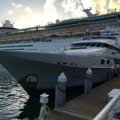 docked at Key West
