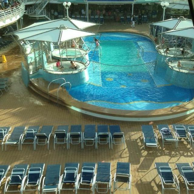 Rhapsody Of The Seas Main Pool - Rhapsody of the Seas
