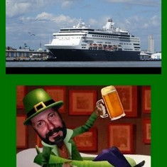 San Diego, California - St Pattys Day Cruise