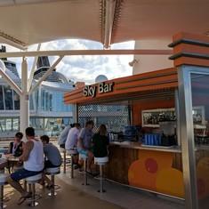 Sky Bar on Oasis of the Seas